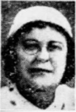black and white photo of Janet Fay