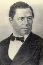 black and white portrait of James Wormley Jones